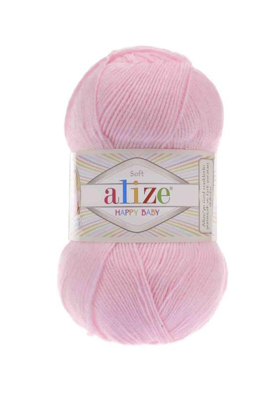 Alize - Alize Happy Baby El Örgü İpi Toz Pembe 185