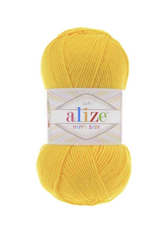 Alize - Alize Happy Baby El Örgü İpi Koyu Sarı 216