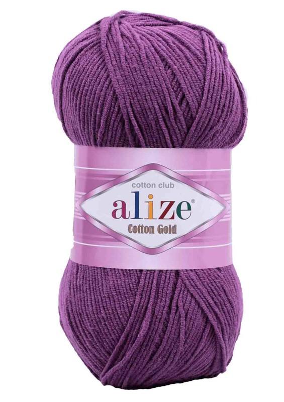 Alize - Alize Cotton Gold El Örgü İpi Mürdüm 122