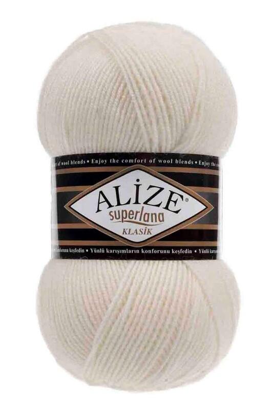 Alize - Alize Superlana Klasik El Örgü İpi Açık Krem 062