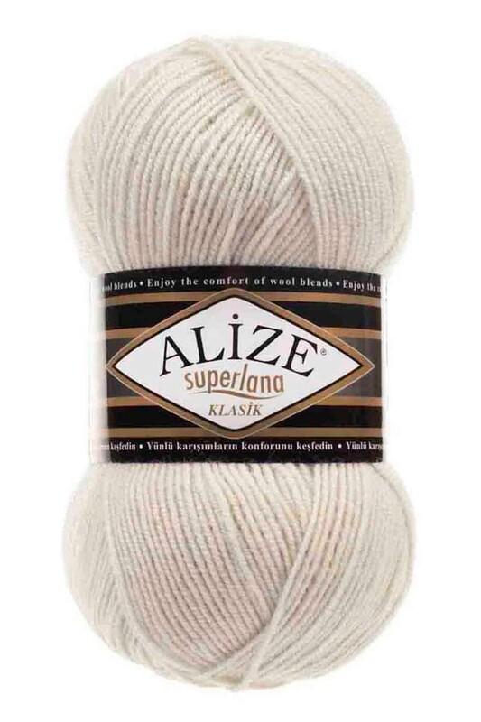 Alize - Alize Superlana Klasik El Örgü İpi Fil Dişi 599