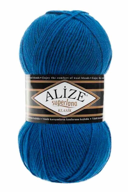 Alize - Alize Superlana Klasik El Örgü İpi Saks 141