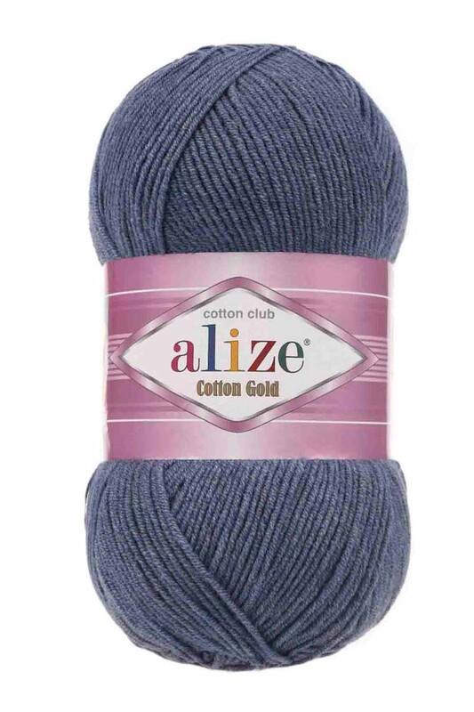 Alize - Alize Cotton Gold El Örgü İpi Denim Melanj 203