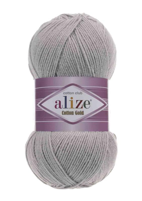 Alize - Alize Cotton Gold El Örgü İpi Gri Melanj 021