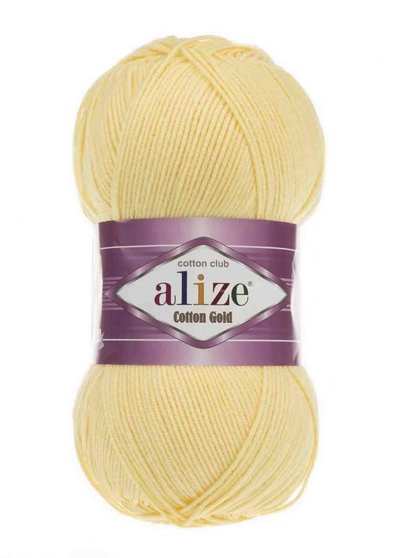 Alize - Alize Cotton Gold El Örgü İpi Açık Sarı 187