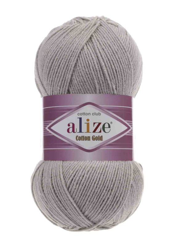 Alize - Alize Cotton Gold El Örgü İpi Gri 200