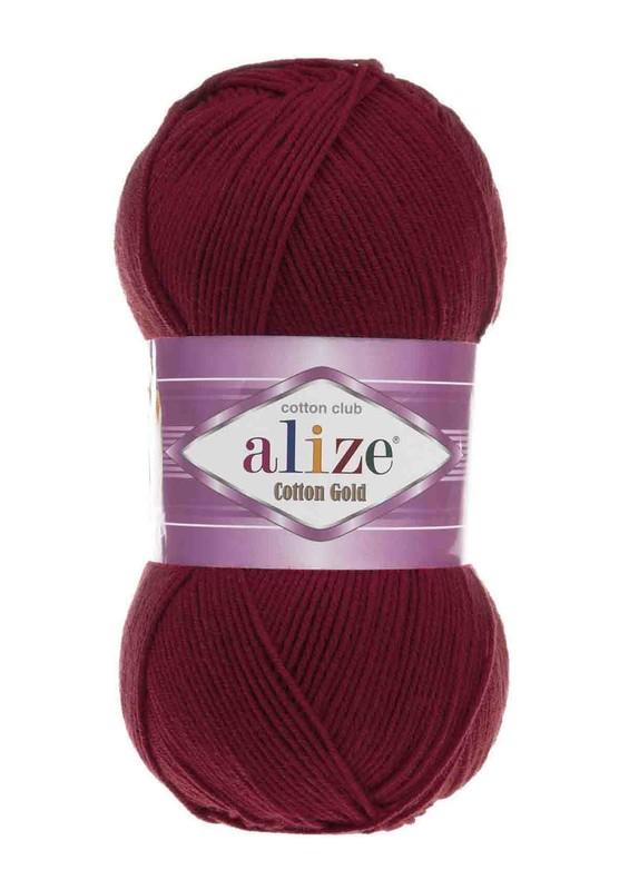 Alize - Alize Cotton Gold El Örgü İpi Vişne Çürüğü 390