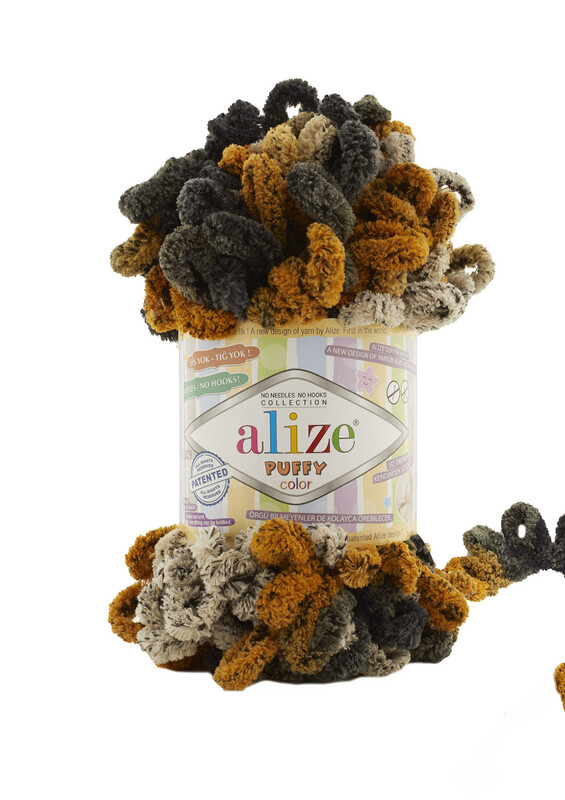 Alize - Alize Puffy Color El Örgü İpi 6082