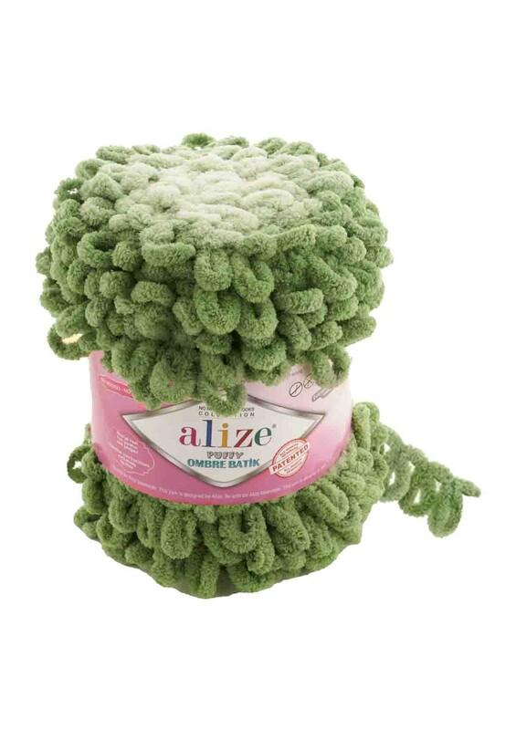 Alize - Alize Puffy Ombre Batik El Örgü İpi | 7423