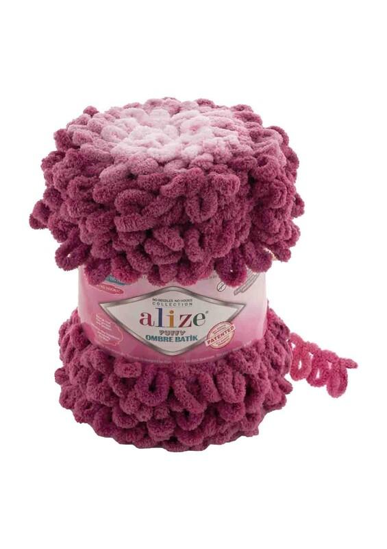 Alize - Alize Puffy Ombre Batik El Örgü İpi | 7426