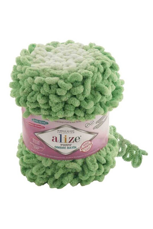 Alize - Alize Puffy Ombre Batik El Örgü İpi | 7428