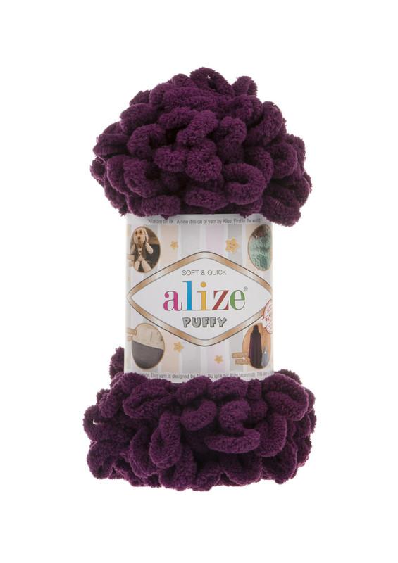 Alize - Alize Puffy El Örgü İpi Mor 111