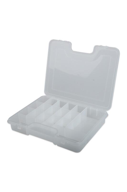 MİR PLASTİK - Organizer Takı Kutusu 20*26 cm | Şeffaf