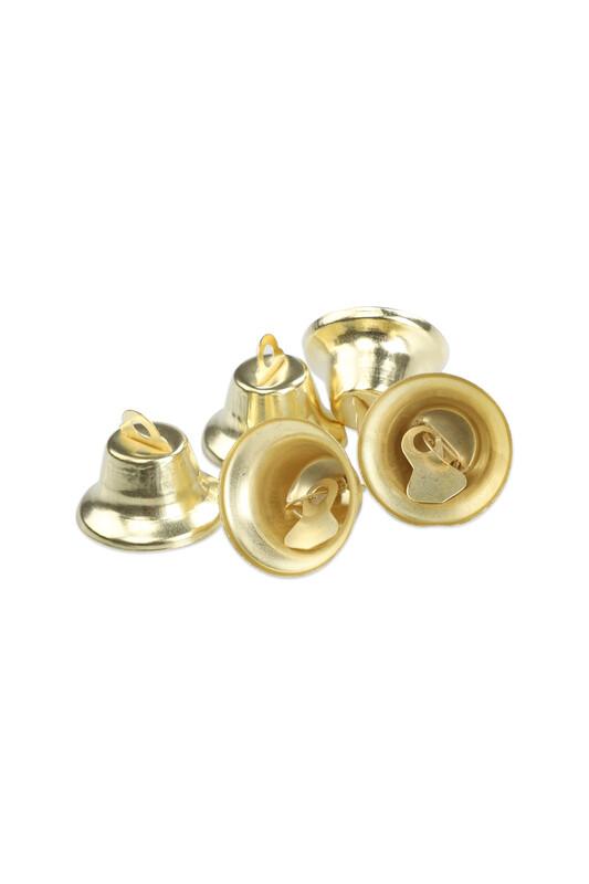 MİR PLASTİK - Amigurumi Altın Rengi Zil Çan 14 mm