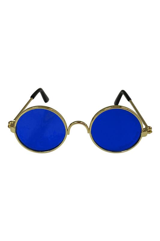 SEVİNÇ - Amigurumi Cam Gözlük Lacivert