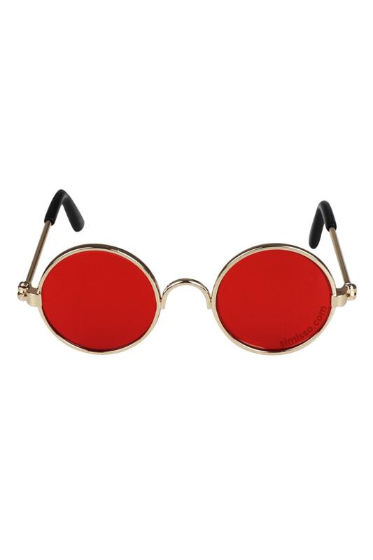 SEVİNÇ - Amigurumi Cam Gözlük Kırmızı