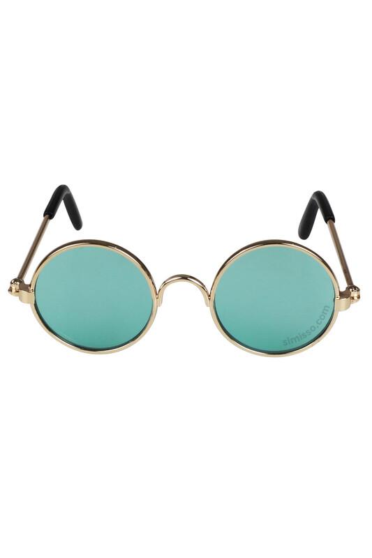 SEVİNÇ - Amigurumi Cam Gözlük Yeşil
