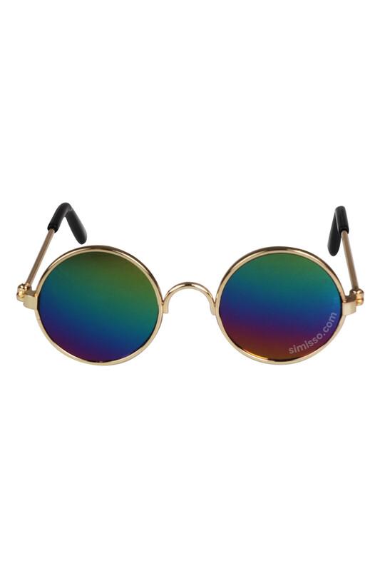 SEVİNÇ - Amigurumi Cam Gözlük Aynalı Renkli