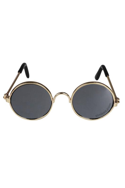 SEVİNÇ - Amigurumi Cam Gözlük Siyah