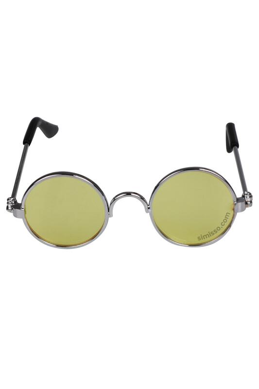 SEVİNÇ - Amigurumi Cam Gözlük Sarı