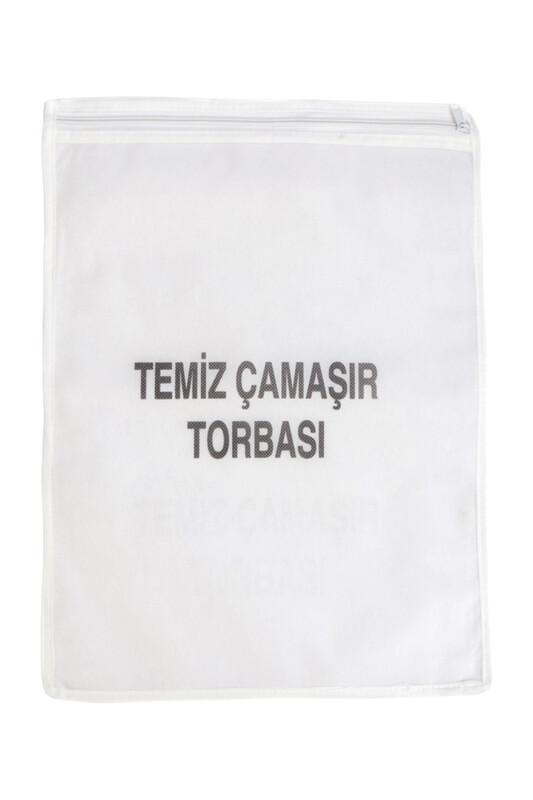 SİMİSSO - Temiz Çamaşır Torbası Beyaz