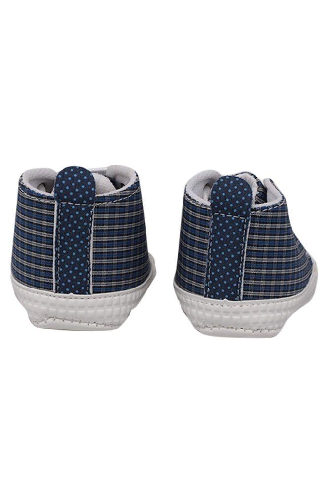 Kareli Bağcıklı Bebek Ayakkabısı | Saks