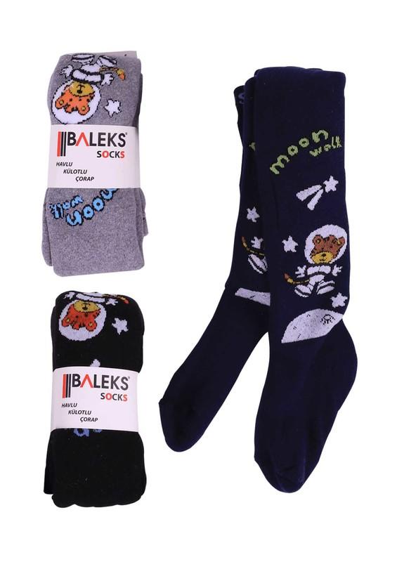 BALEKS - Baleks Havlu Külotlu Çorap   Siyah