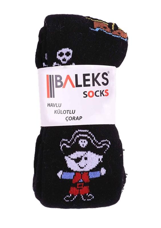 BALEKS - Baleks Havlu Külotlu Çorap 950 | Siyah