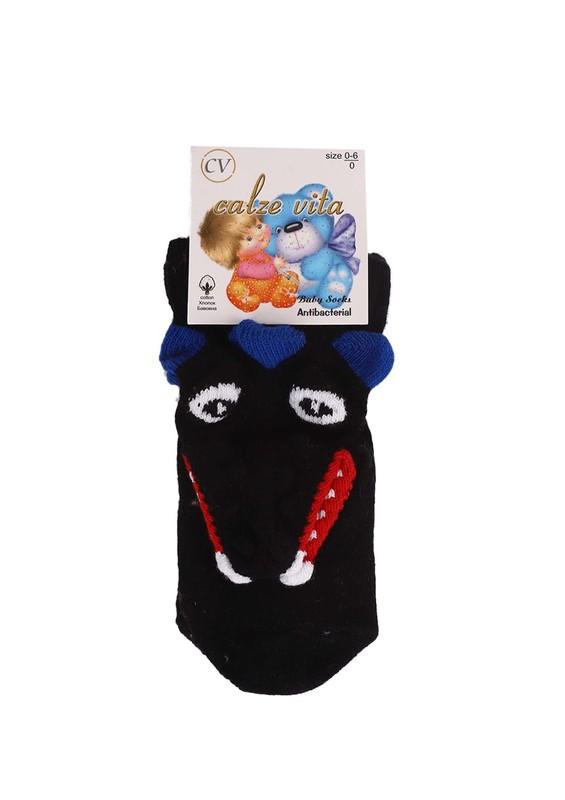 CALZE VİTA - Calze Vita Çorap 003 | Siyah