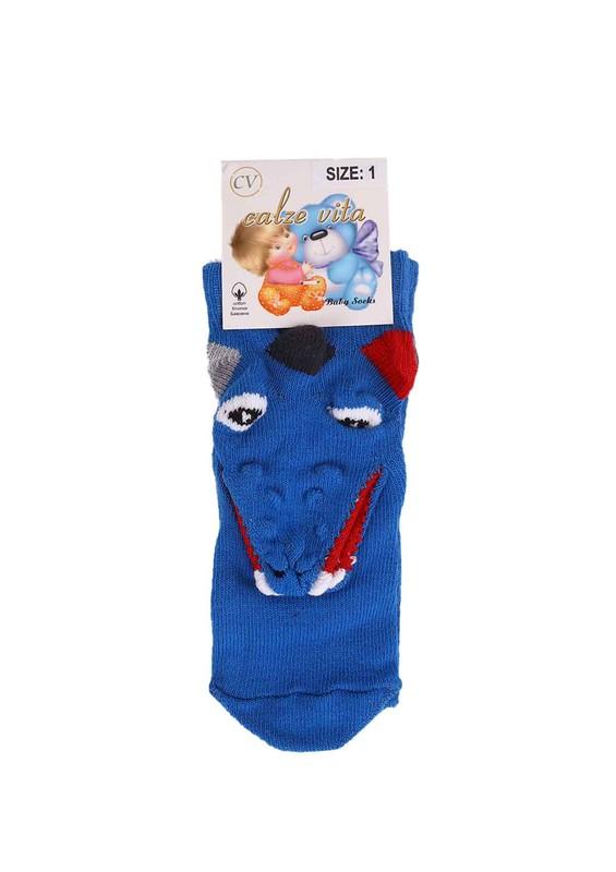 CALZE VİTA - Calze Vita Çorap 003 | Mavi