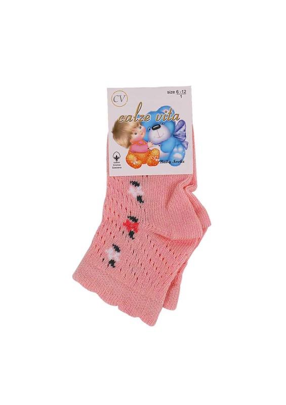 CALZE VİTA - Calze Vita Soket Çorap 001 | Pudra