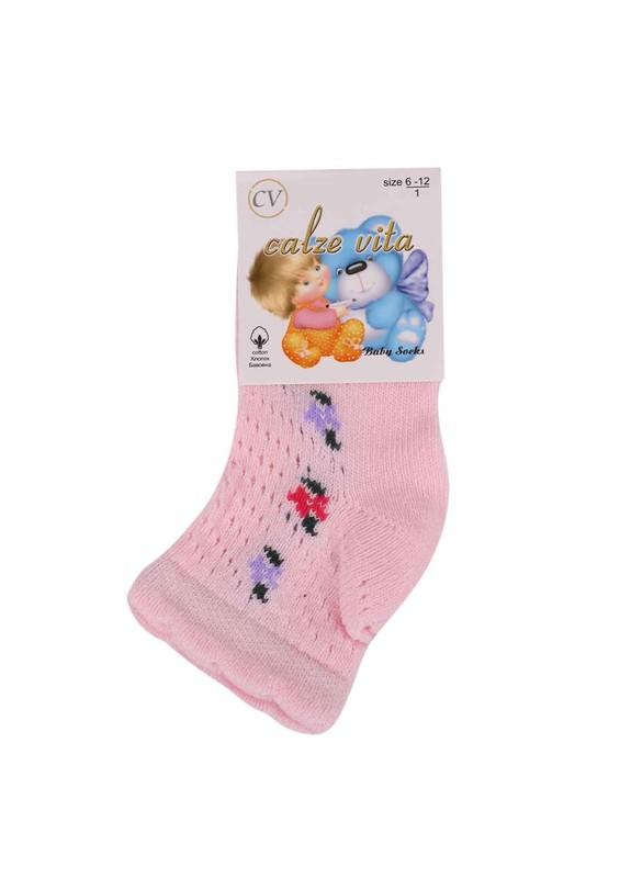 CALZE VİTA - Calze Vita Soket Çorap 001 | Pembe