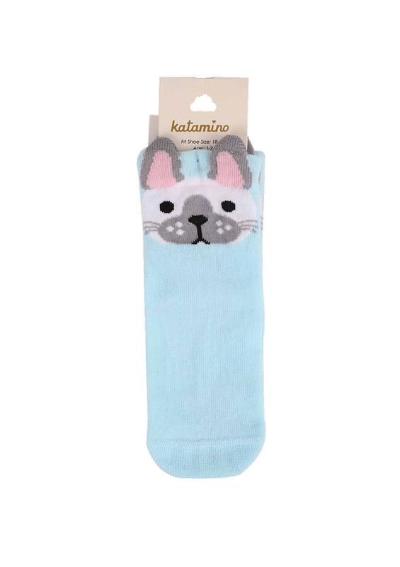 KATAMİNO - Katamino Soket Çorap 003 | Mavi