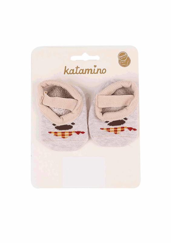 KATAMİNO - Katamino Havlu Patik Çorap 83012 | Bej