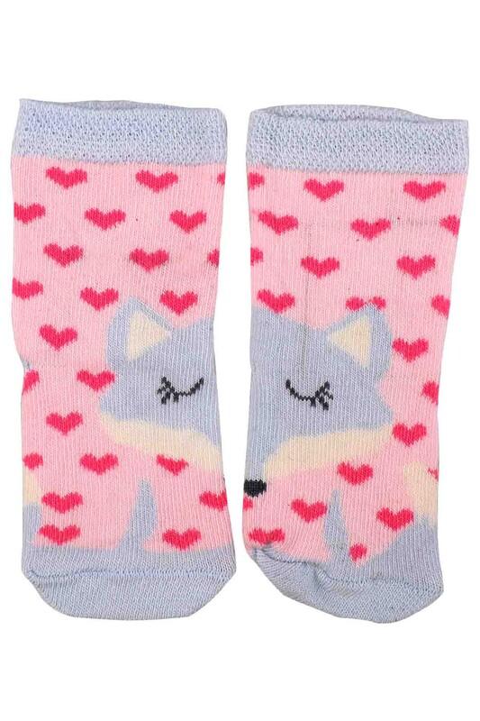 KİDS SOCKS - Kids Socks Soket Çorap 013 | Fuşya