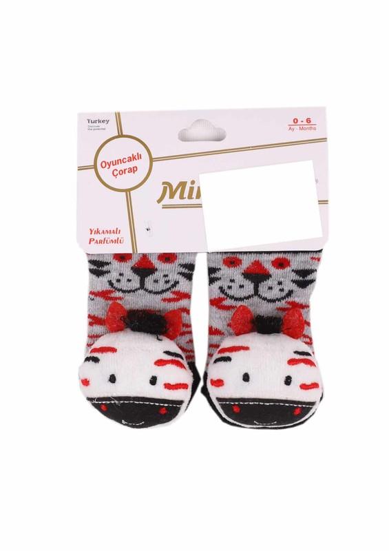 MİNİX - Miniminnix Oyuncaklı Çorap 361 | Kırmızı
