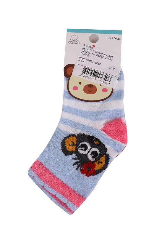 SİMİSSO - New Vip Soket Çorap 505 | Mavi