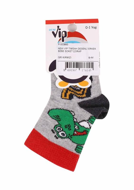 SİMİSSO - New Vip Soket Çorap 503 | Gri