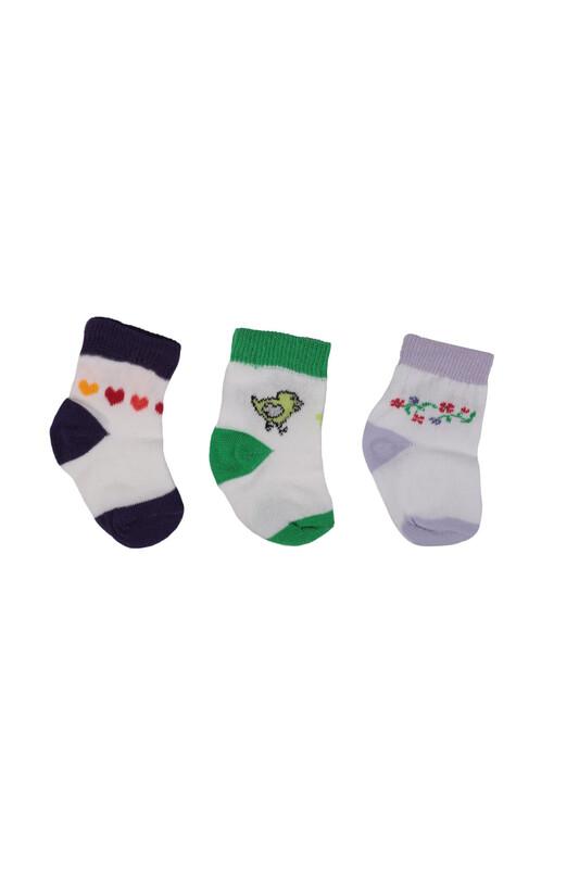 SİMİSSO - Bebek Soket Çorap 3 lü   032