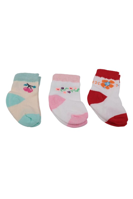 SİMİSSO - Bebek Soket Çorap 3 lü | 035