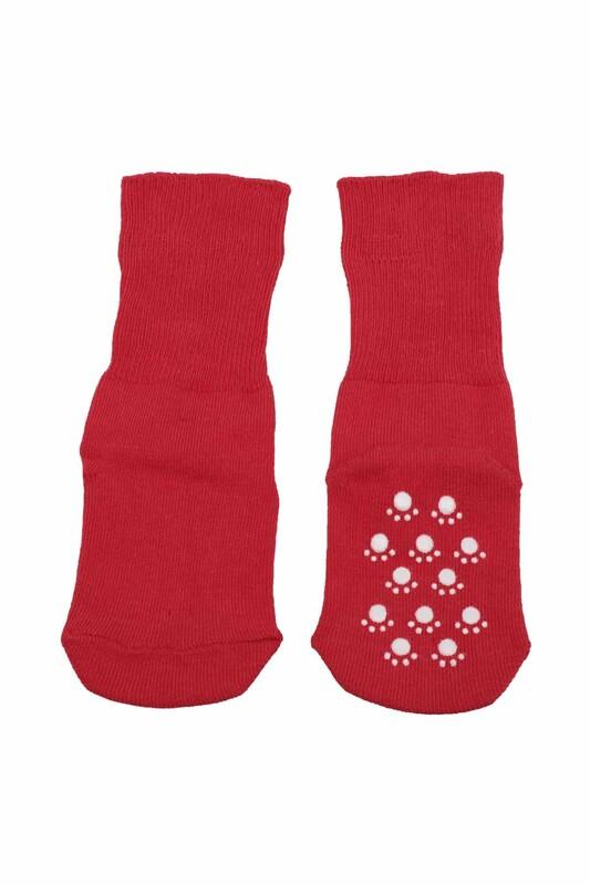 SİMİSSO - Çocuk Soket Çorap 318 | Kırmızı