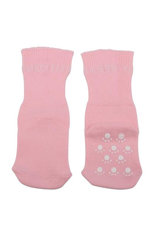 SİMİSSO - Çocuk Soket Çorap 318   Pudra