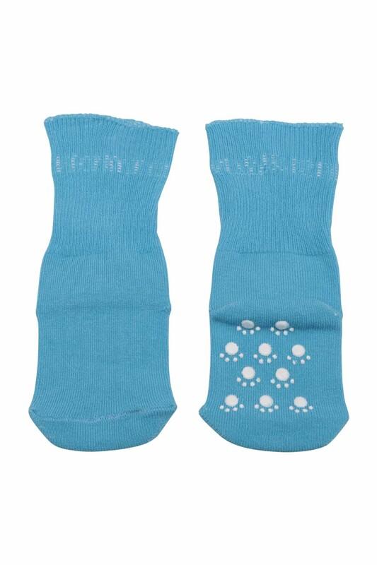 SİMİSSO - Çocuk Soket Çorap 318   Turkuaz