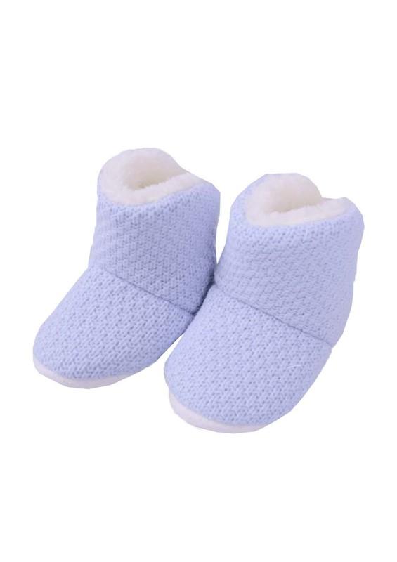 SİMİSSO - Simisso Polarlı Bebek Panduf Mavi