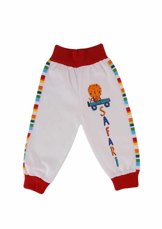 MANCAR - Mancar Bebek Pantolonu 1026 | Kırmızı
