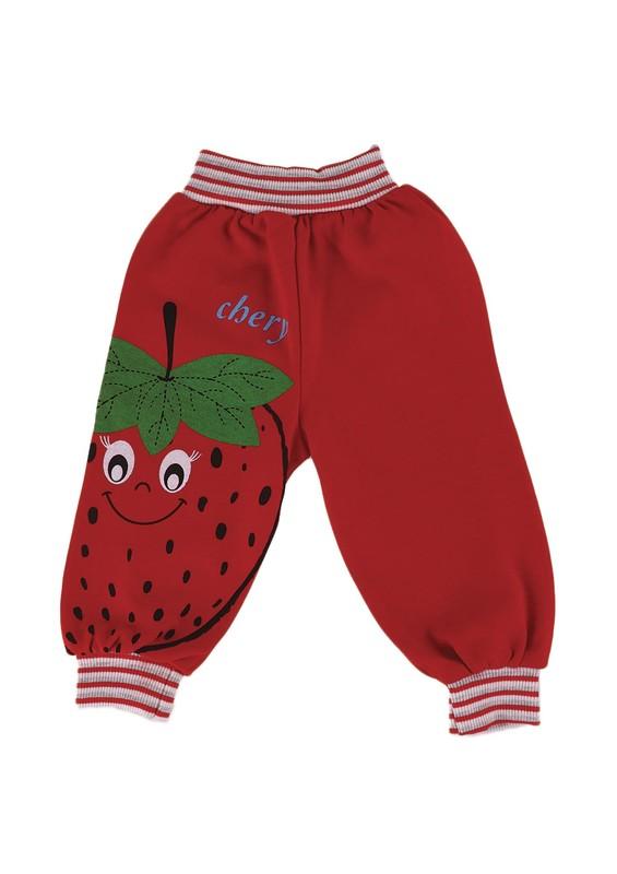 MİLLİON - Million Bebek Pantolonu 1832 | Kırmızı