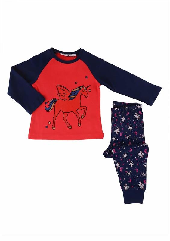 ROLYPOLY - Rolypoly Pijama Takımı 550 | Nar Çiçeği
