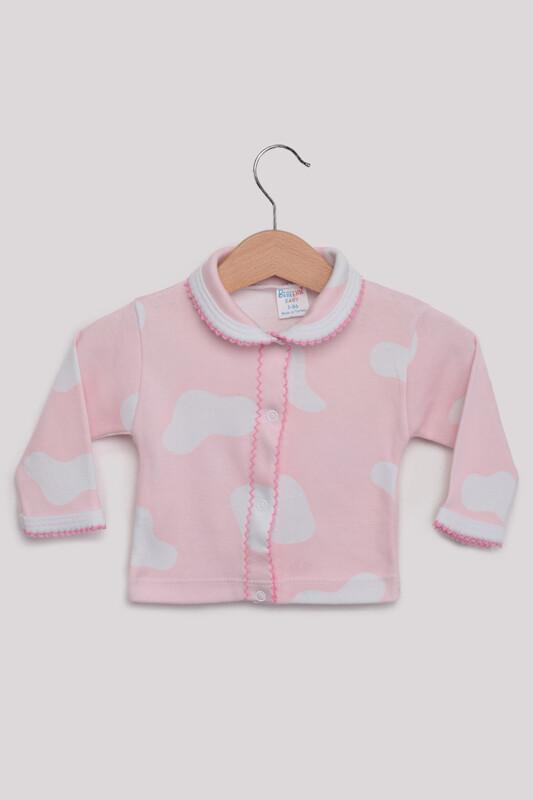 SİMİSSO - Desenli Bebek Pijama Takımı | Pembe