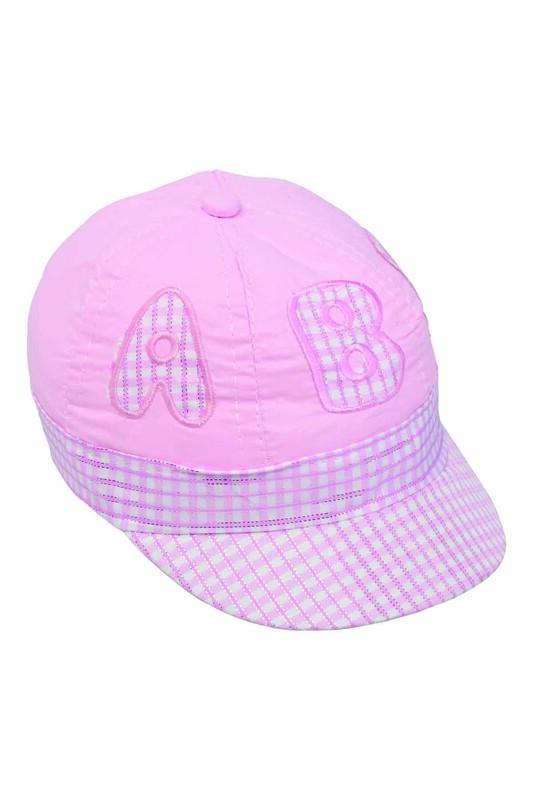 Fatih - Simli Kız Bebek Şapka | Pembe