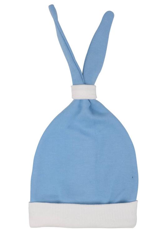 SİMİSSO - Bebek Kulaklı Şapka | Mavi